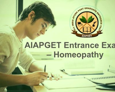 AIAPGET Entrance Exam – Homeopathy