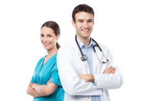 Nurse Practitioner and a Physician Assistant
