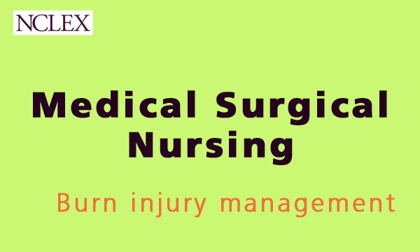 burn injury management